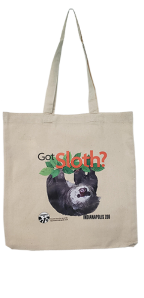 Indy AAZK Sloth Bag smallest